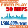 Fiber Play - 50 Mbps