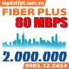 Fiber Plus - 80 Mbps