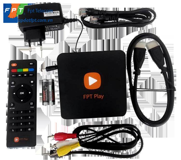Trọn bộ sản phẩm FPT Play Box