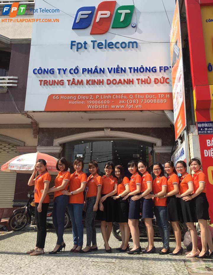 Lắp đặt internet FPT quận Thủ Đức TP.HCM khuyến mãi mới nhất 2017