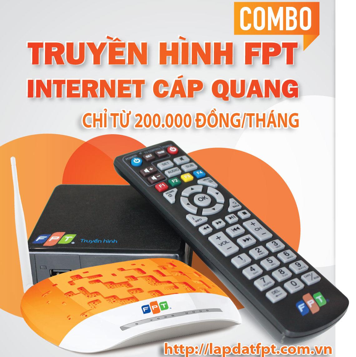 Chương trình siêu khuyến mãi internet và truyền hình FPT - Crazy Combo