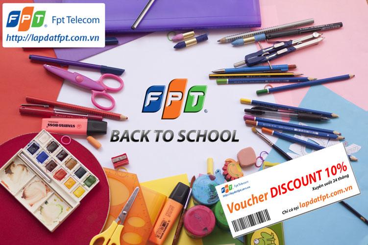 Khuyến mãi lắp mạng FPT dành cho sinh viên mùa nhập học