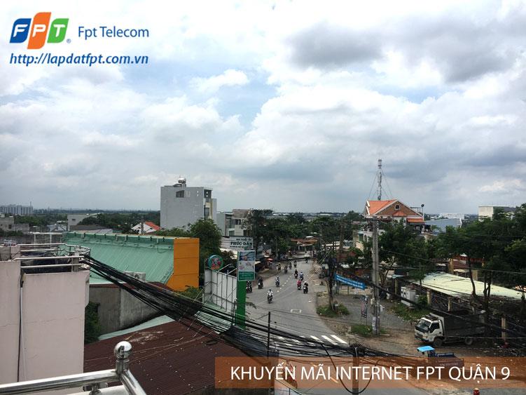 Lắp đặt internet FPT phường Phước Long A quận 9 tặng modem WiFi