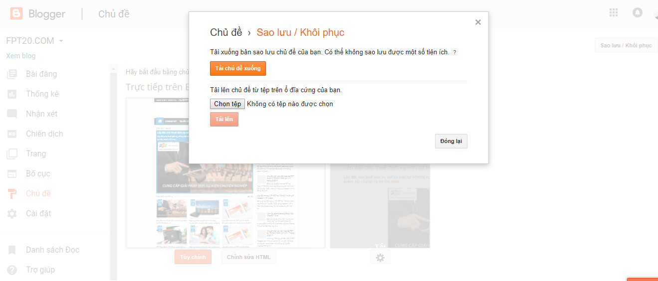 up theme blogspot