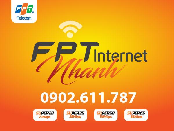 Lắp đặt internet FPT nhanh - Các gói cước lắp mạng FPT Super mới