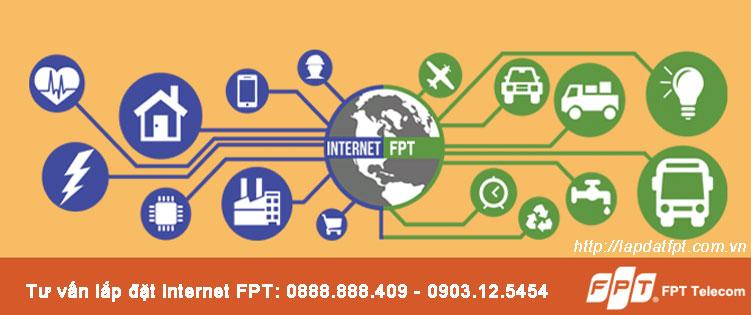 Lắp đặt mạng WiFi FPT tại TP.HCM miễn phí modem WiFi 4 Port